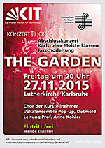 "27.11. 20 Uhr, ""The Garden"" Jazzchor-Konzert mit Pop-Up Detmold"